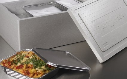 Thermo Boxes for Gastronom aluminium containers - food packaging - Plus Pack