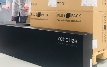 Robotize automated pallet transport